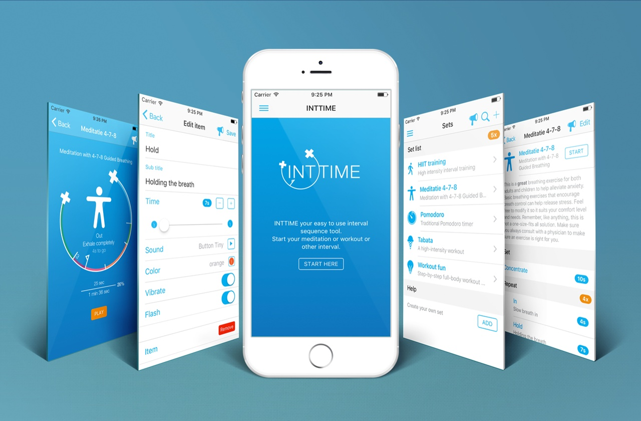 Inttime Hiit And Meditation Interval Application Making Of How To Build A Regularly Repeating Timer
